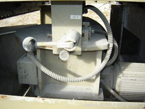 Used-J.C. Steele & Sons Noodle / Aggregate Cutter. Unit is designed to cut extruded wet clay with wire string rotating cutte...