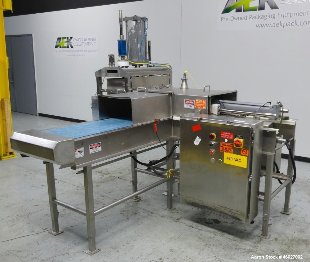 Used- Marchant Schmidt Pneumatic Cheese Cubing Machine, Model MS80.
