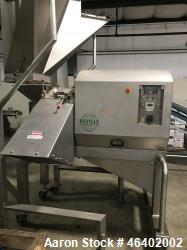 Used- Deville Meat /Strip Cutter, Model CMD-3D. Stainless steel. Rated approximately 6,000 to 10,000 lbs per hour. Mfg. 2007.