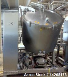 Used-Stephan Food Processing Machinery Vacutherm System, Model V-MC1200/150, Serial # 109002, with Waukesha 180U2 Pump, Cent...