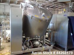 Used-Stephan Food Processing Machinery Vacutherm System, Model V-MC1200/150, Serial # 109001, with Waukesha 180U2 Pump, Cent...