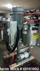 Used- Urschel Comitrol, Model- 1700. 30 hp motor 3/60/230/460 Volt. Standard cut head stainless steel frame.