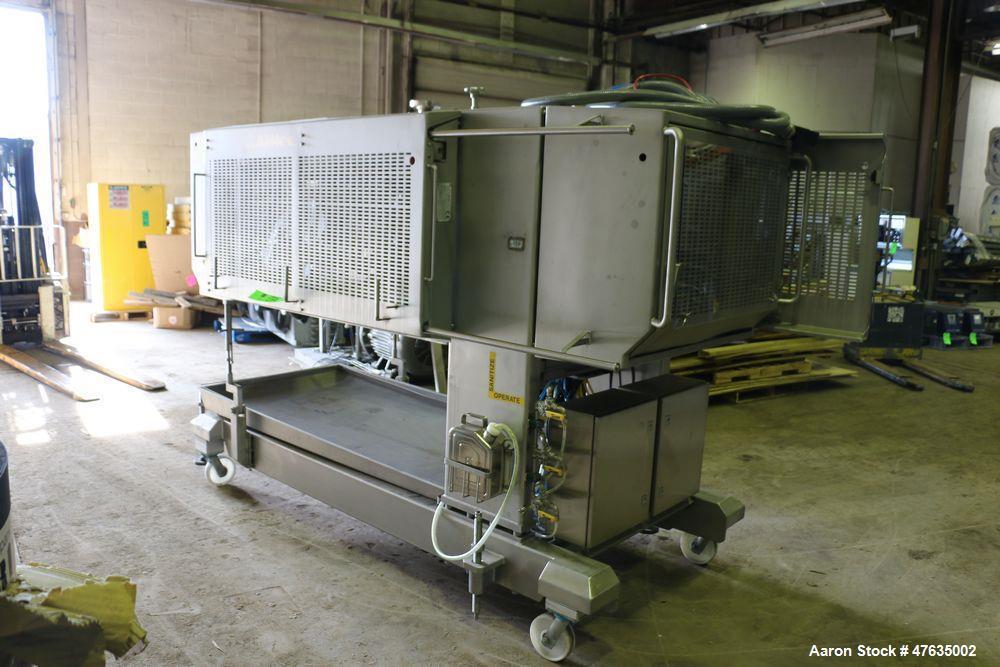 "Used-2009 Alimec S/S Peperoni Slicer, Model SLICER, S/N 628-52, 480 V, 3 Phase - 3-Station, Aprox. 14"" W x 13-1/2"" L Peperon..."
