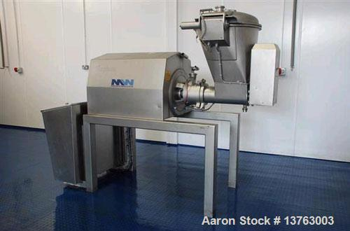Used-Stephan Microcut MCH050 Vacuum Cutter. Produced 2000, with 5 kW (73 hp) motor working at 2980 rpm.