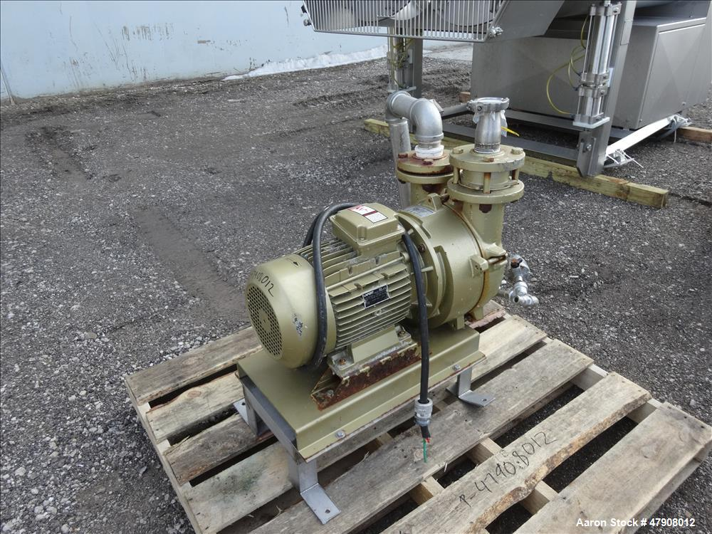 Used- Stephan High Speed Mixer, Model TK 600, 304 Stainless Steel.