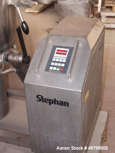 Used- Stephan Vacuum Mixer, Model VM 100 SPS