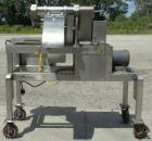 Used- Urschel Slicer, Model H-A, Stainless Steel.  12 crosscut knives and 17 circular knives spaced 3/8