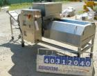 Used- Urschel Dicer, Model M, 304 stainless steel. Designed for dicing or strip cutting food products. 11