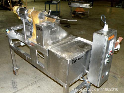 Used- Stainless Steel Urschel Slicer, Model G-A