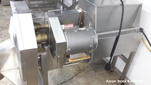 Used- Urschel Crosscut Slicer, Model OV, Stainless Steel.