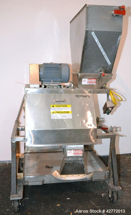 Used- Urschel Slicer, Model RA-A, 304 Stainless steel. Designed to uniformly dice, strip cut, or slice. Slice thickness 1/16...