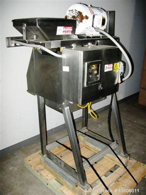 Used-Urschel RA-D cutter slicer. Three dimensional dicer features a wide selection of speeds and knife styles to give excell...