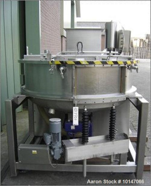 Used- Glatt Systemtechnik Dresden Noduliser/Spheronizer, Type P-140