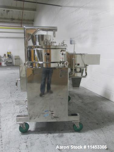 Unused- LCI Twin Dome Granulator Spheronizer System.