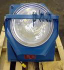 """Used- FEECO International Disc Pelletizer. Approximate 16"""" diameter x 3-1/4"""" deep 301 stainless steel pan. (3) Adjustable pl..."""