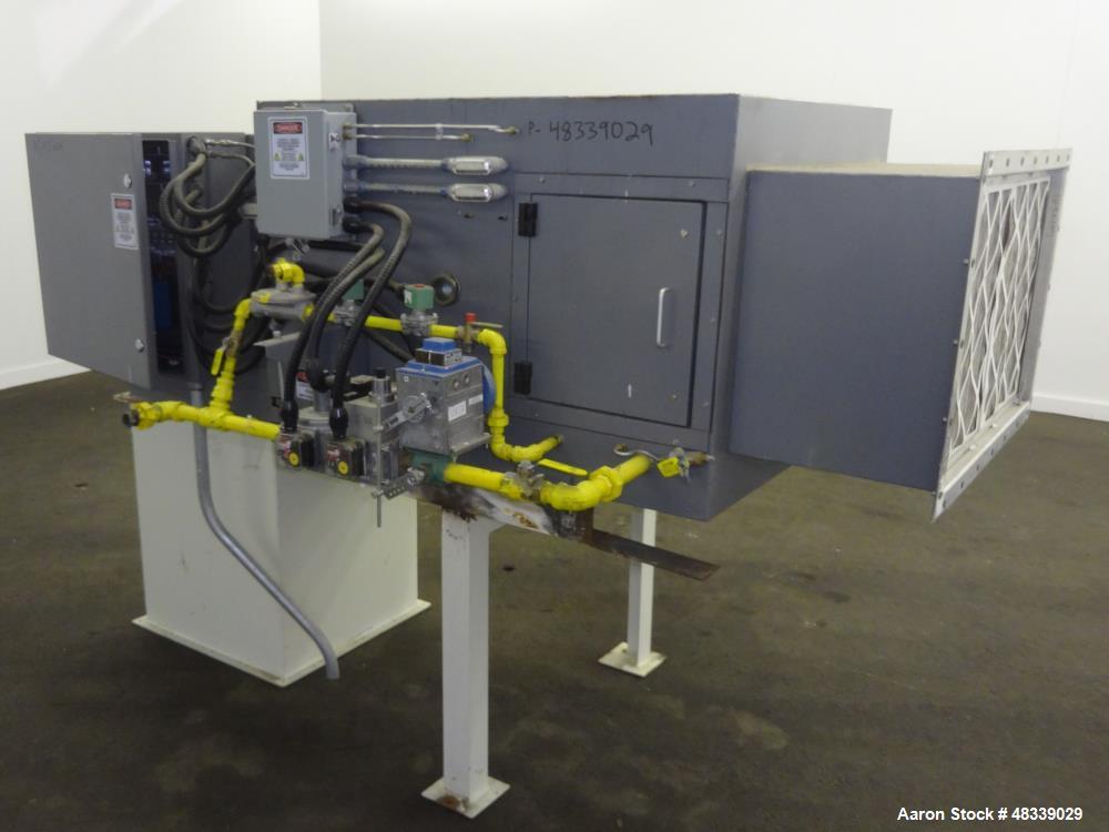 Used- Munters Integrated Custom Air Handler, Model ICA-1500-50.