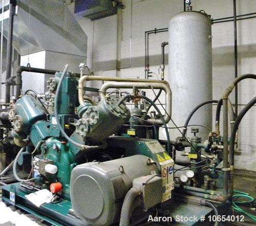 Used-SIAD High Pressure Air Compressor, Model Tempo 950.  559 Cfm, 239 hp, 460/3/60 power.  Includes high pressure tank and ...