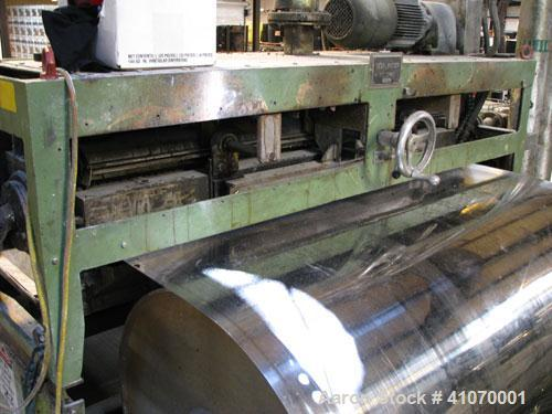 "Used-Kaiser / Berndorf 59"" wide  x 20' long, stainless steel belt flaker.  Belt new in 2005, sporadic use since then.  4 hp ..."