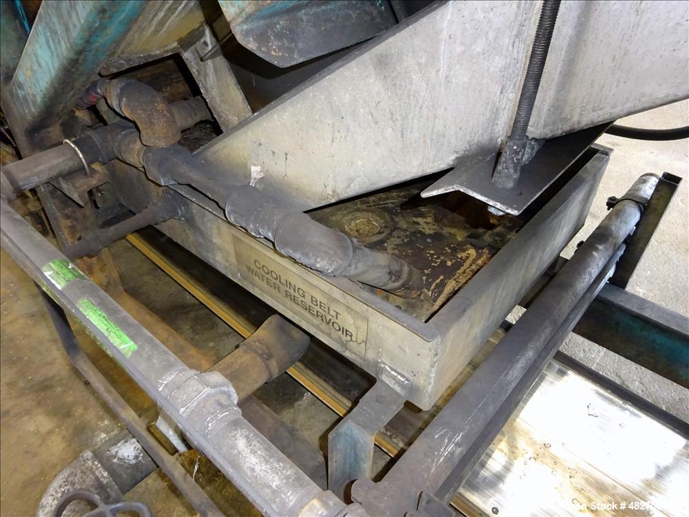 Used- Berndorf Belt Systems Incline Double Belt Cooler.