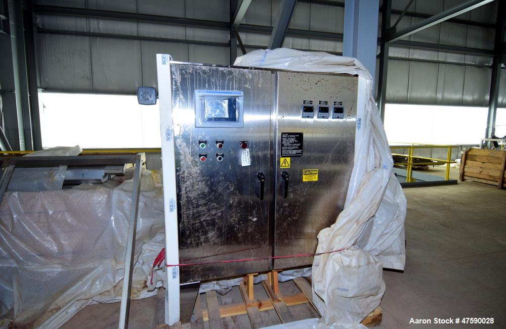 Unused- Buhler Aeroglide Natural Gas Single Pass Continuous Flow Conveyor Dryer.