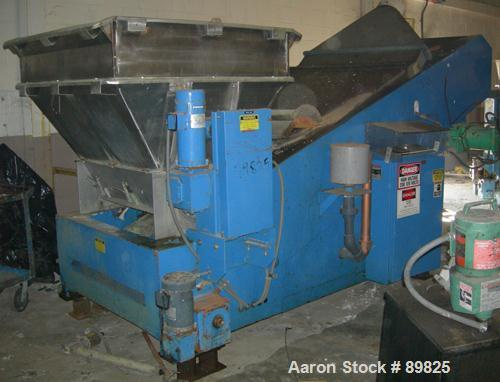 USED: JWI sludge dryer, model J360GUSA. Natural gas fired 400 cubic feet per hour, with mesh belts. Rated 188 lbs per hour. ...