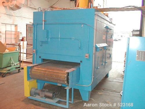 """USED: Koch Industrial conveyorized high velocity IR oven, 10'0"""" long with 4'0"""" IR zone. Bulb type IR lamps. Maximum oven tem..."""