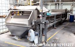 Used- Sandvik Stainless Steel Belt Cooler.
