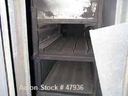 Used- National Drying Machinery Gas-Fired Convection Dryer-Cooler, Type AN3, Carbon Steel. Approximately 100 square feet, 5'...