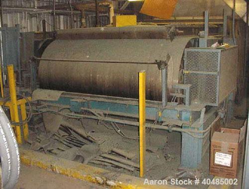 "Used-Sandvik Belt Flaker, stainless steel chilled belt conveyor machine. Belt width is 94"", conveyor bed length (distance be..."