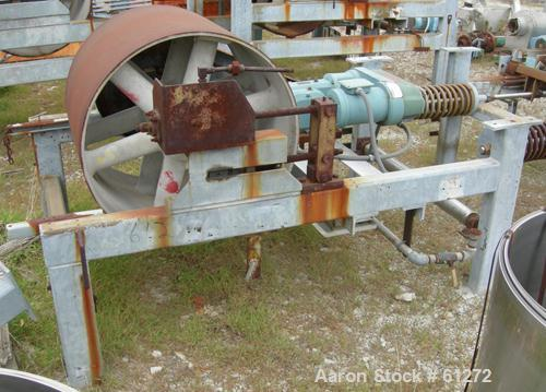 "Used- Sandvik Belt Cooler, Stainless Steel. 32"" Wide x 44' long. Bottom spray cooling. Operating speed of 3.25-30 rpm, capac..."