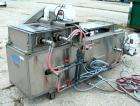 Used- Sandvik Belt Cooler, 316 Stainless Steel. 12