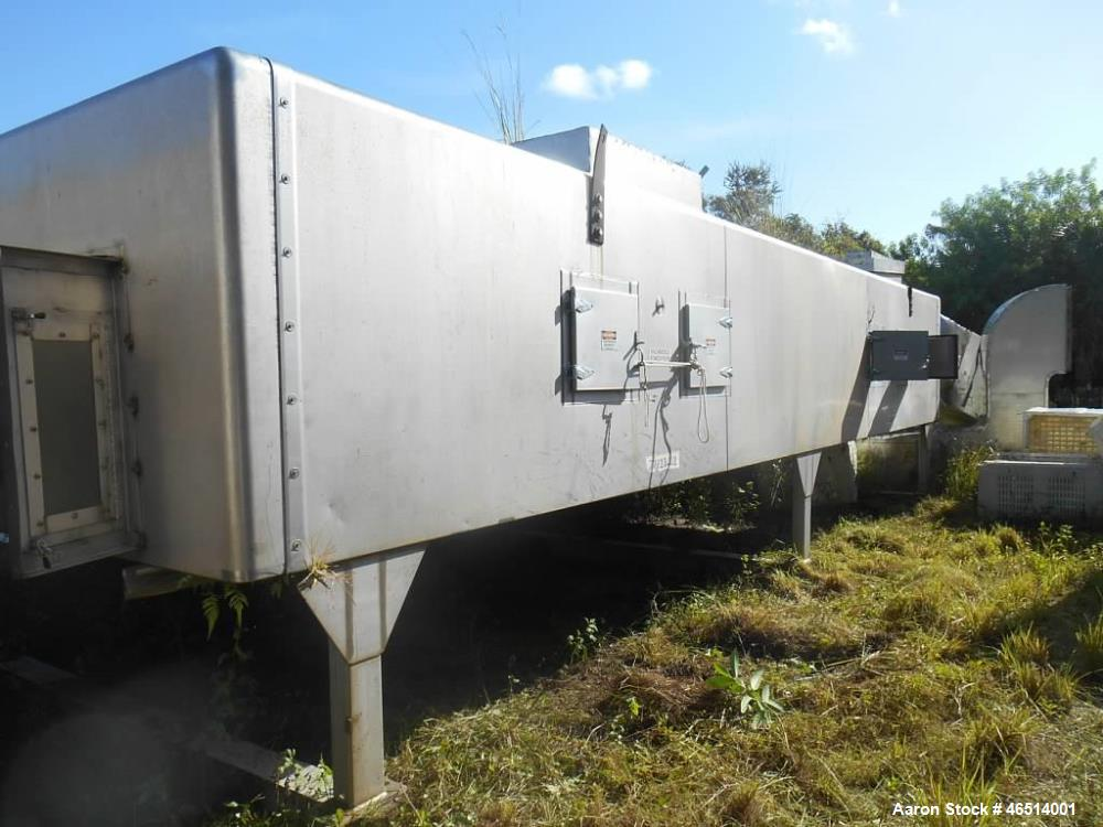 Used- Wolverine Corporation Jetzone, Dryer (Fluid Bed), Model DH-103