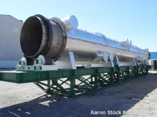 Reconditioned- Bartlett Snow / CE Raymond Rotary Calciner, 316L Stainless Steel. Maximum load of 17,000 pounds, nominal work...