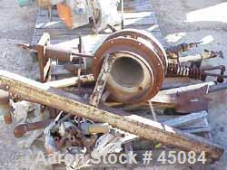 """Used- Bartlett Snow Laboratory Calciner. Refractory lined tube 6-1/2"""" diameter x 7' long. Gas fired. 1/4 hp feed screw drive..."""