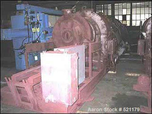 """USED: Bartlett Snow indirect fired rotary calciner. Approx 24""""diameter x 26' long shell, inconel hot zone, 1886 deg F (1030 ..."""