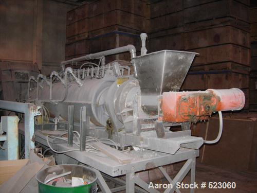 "USED: ABB Raymond Bartlett Snow rotary calciner. Approximate 6""diameter x 6' long hot section. Gas fired. Varispeed drive."