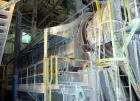 USED: Cumbustion Engineering/Bartlett Snow rotary dryer, stainless steel (type unknown). Dryer cylinder is 72