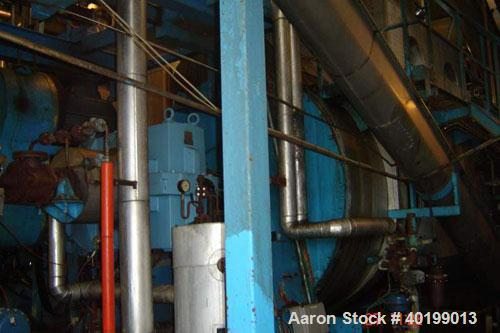 Unused-Used: Atlas Disc Dryer, type PCD 2558. Material of construction is carbon steel on product contact parts. 4644 square...