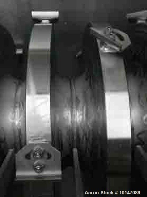 Used- Hosokawa Micron B.V. Doetinchem Torus Disc Dryer, Type TDJS 630/2.0