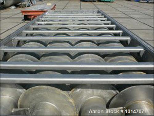 Used- Stainless Steel Kollemann Adenau Torus Disc Dryer, AJK-QTHSF-DN600