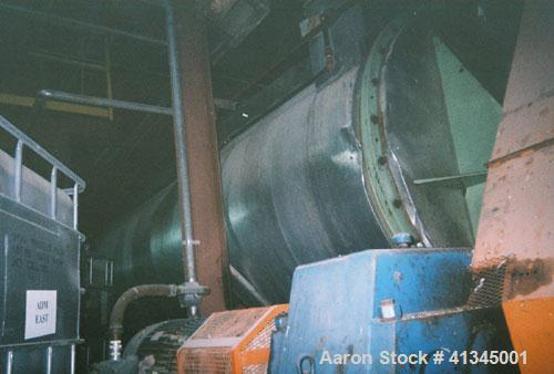 Used-Stord Rotadisc Dryer, Model TST-70R. 2,658 square feet heating area, carbon steel, 52 discs, 9 rpm, manufactured 1990. ...