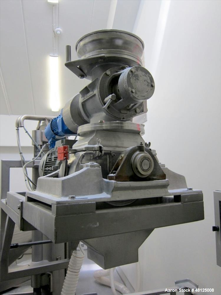"""Used-Unknown double cone blender, Working capacity 28.32 cu ft. (1200 liter), Stainless steel construction. 65"""" (2000 mm) di..."""