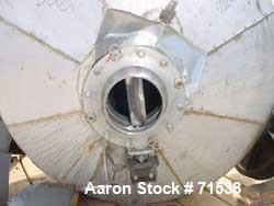 Used- Stainless Steel Armand Deprest Double Cone Dryer