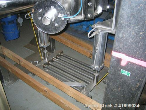 Used- Gemco Slant Cone Vacuum Dryer, 3 cubic feet, model Formulator, Hastelloy C276 on product contact surfaces. Maximum mat...