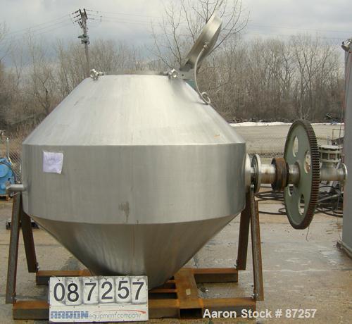 Used- GHS Vakuumtechnik Vacuum Dryer. Approximate 42 Cubic Feet Working Capacity (70.6 total), 316 Stainless Steel. Internal...