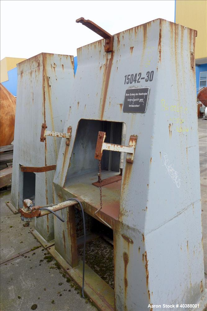 Used- 235 Cubic Feet Klein Double Cone Vacuum Dryer