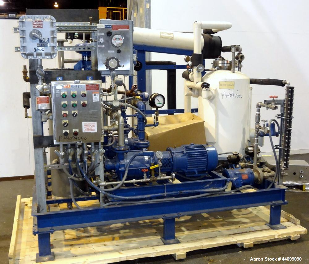 Used- Stainless Steel Patterson Kelley Twin Shell Solids Processor