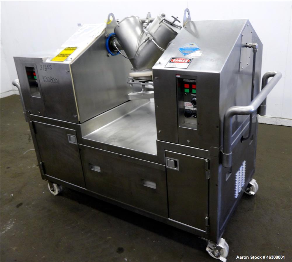 Used: Patterson Kelley Mini Processor 8 Quart Twin Shell Vacuum Dryer