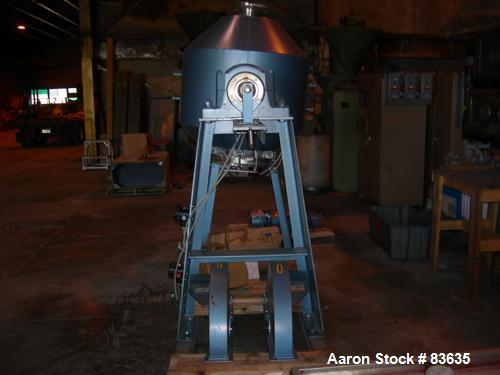Paul O. Abbe Rota Cone Vacuum Dryer, Model RCVD30S