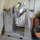 Used- Baker Perkins Double Cone Dryer. 3 cubic foot capacity. Stainless steel. Internal rated 20 psig, jacket rated 20 psig ...